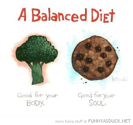 funny-balanced-diet-brocolli-cookie-body-soul-comic-pics