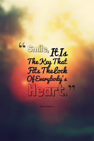 Smile-It-Is-The-Key-That-Fits-The-Lock-Of-EverybodyS-Heart.-»-Anthony-J.-DAngelo